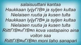 Apulanta - Kusen Tulta Lyrics