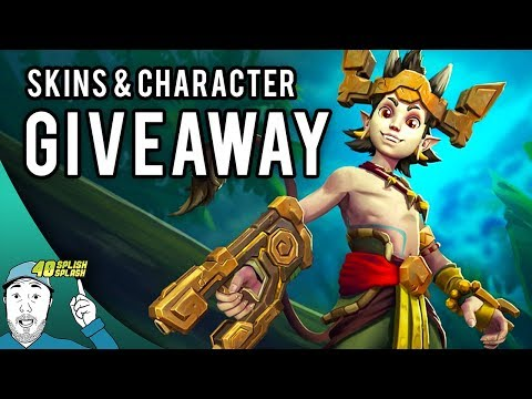 PALADINS CHARACTER AND SKINS GIVEAWAY!