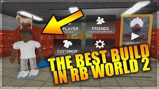 The Best Build In RB World 2 - PF Post Scorer - ROBLOX RB World 2 Gameplay