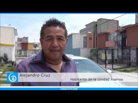 Vecinos del fraccionamiento Álamos, denuncian inseguridad
