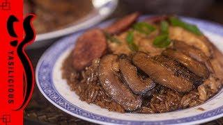 KLEBREIS mit Hähnchen und Pilzen – LO MAI GAI – Klebreis zubereiten – Klebreis dämpfen