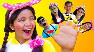 Fruits Finger Family Song - Nursery Rhymes for Kids