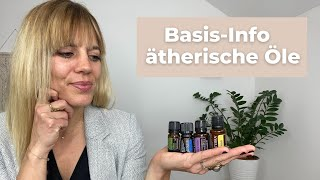Anwendung ätherischer Öle doTERRA | Einführung