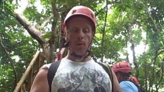 preview picture of video 'Live in the  Puerto Rico Rainforest Zip Lining'