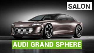 Audi Grandsphere : la future A8 électrique