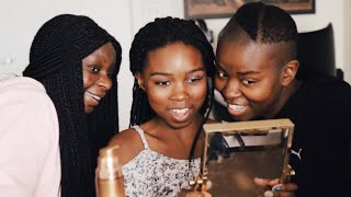 BEAUTY VLOGGER VS MOM: TEEN DAUGHTER MAKEUP CHALLENGE! ft Shalom Blac