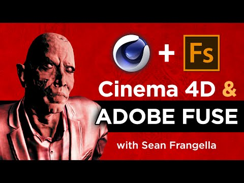 Adobe Fuse CC & Cinema 4D Tutorial – Sending custom 3D characters to Cinema 4D