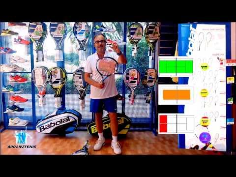 Como elegir la raqueta adecuada para jugar tenis  1ª parte JUNIOR