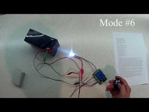 How it works: Geekcreit® DC 12V 4CH 433Mhz Wireless Remote Control Relay Control Module