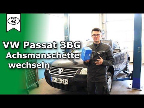 VW Passat 3BG Achsmanschette Wechseln  |   Change the axle cuff  |  Vitjawolf  | Tutorial  |  HD