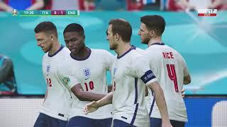 Italy vs. England [1-1] – Penalties (3:2) | FINAL EURO 2020 | Full Match – 11/07/21