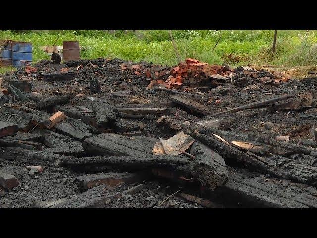 Два брата-пенсионера устроили пожар