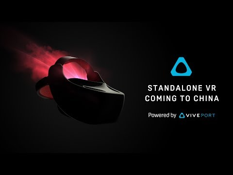 HTC Vive and Qualcomm Announce Standalone VR Headset for the China Market