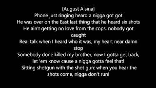 August Alsina - DownTown (Lyrics) Ft. Kidd Kidd (R.I.P Melvin Labranch III)