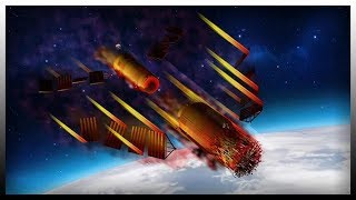 Chinese Space Station Crashes To Earth