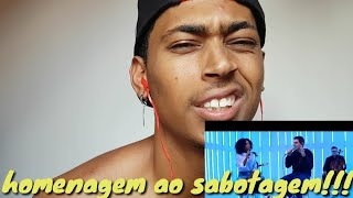 REAÇAO MANO G Fabio Brazza Part. Negra Li   Anjo De Asas Negras (DVD Colírio Da Cólera)
