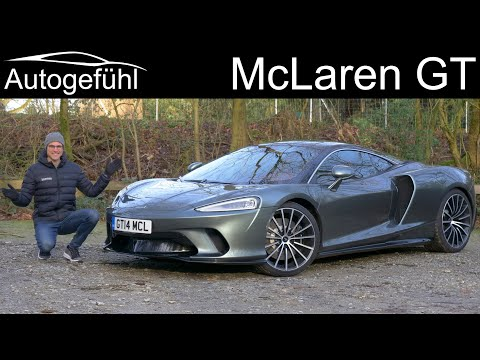 all-new McLaren GT FULL REVIEW with German Autobahn driving - Autogefühl