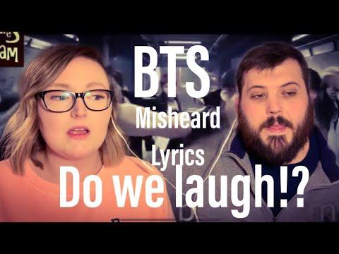 BTS COUPLE REACTION😳- BTS Try Not To Laugh Misheard Lyrics Reaction (Zak is back!)