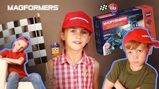 Magformers R/C Cruiser Set — видеообзор набора