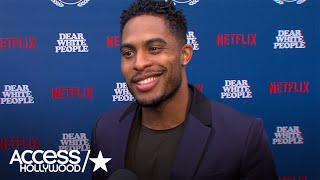 'Dear White People': Brandon P. Bell On Why He Wanted To Revisit Playing Troy | Access Hollywood