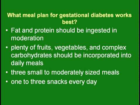 The Benefits of Following a Gestational Diabetes Meal Plan