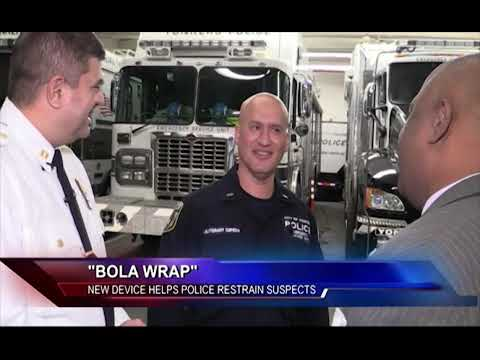 'Bola Wrap:' New Device Helps Police Restrain Suspects
