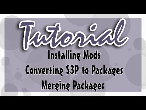 Sims 3 Tutorial: How To Install Mods/CC + Merging And Converting Packs To Packages Mp3