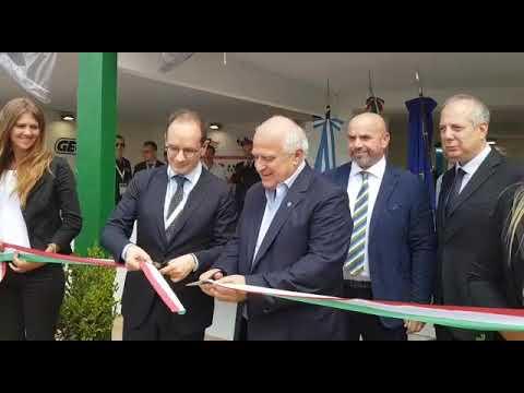 Inaugurazione padiglione Italia a ExpoAgro Argentina