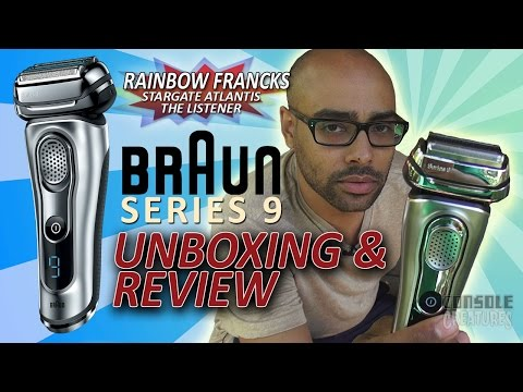 Braun Series 9 Electric Shaver Unboxing & Review by Rainbow Sun Francks