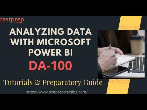How to prepare for Exam DA-100: Analyzing Data with Microsoft ...