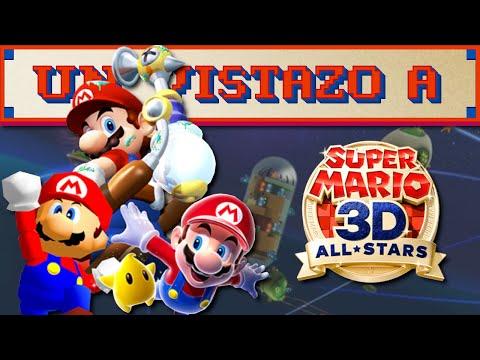Un vistazo a Super Mario 3D All-Stars