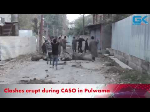 Clashes erupt during CASO in Pulwama