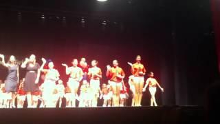 Tap Toe & Twirl Kids In America (Closing Trophy Girls)