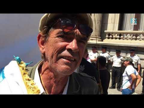 Don Amílcar agradece solidaridad ciudadana luego de agresión