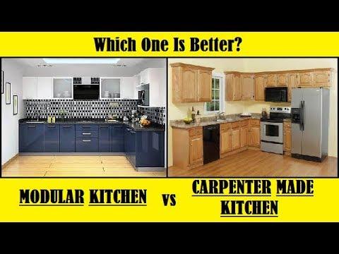 Modular Kitchen VS Carpenter Made Kitchen - Which one is better?