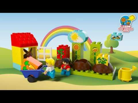 Vidéo LEGO Duplo 10819 : Mon premier jardin