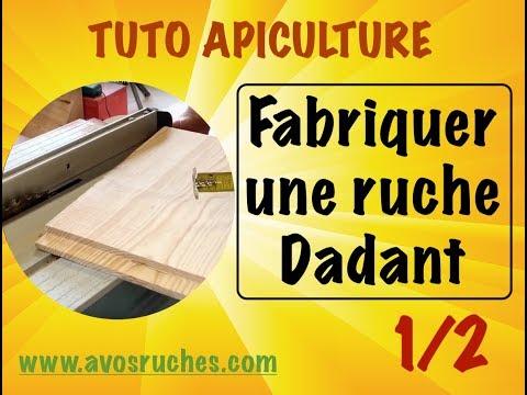 , title : 'TUTO apiculture : fabrication d'une ruche dadant 10 cadres en détail 1/2. www.avosruches.com