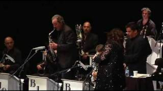 """Ann Hampton Callaway and the Barcelona Jazz Orchestra performing """"Lover Come Back To Me"""""""