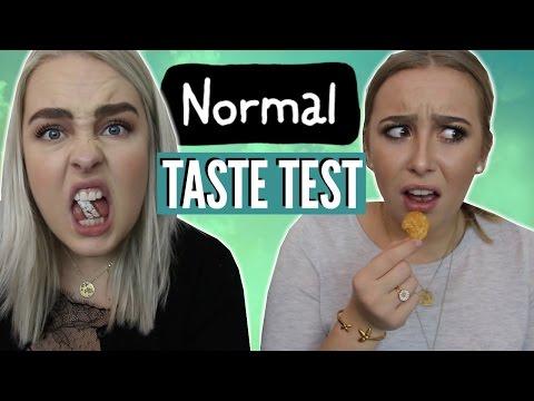 NORMAL TASTE TEST | Julia Sofia ♡