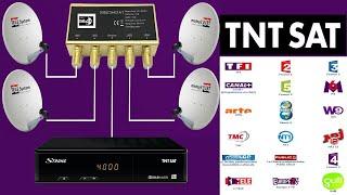 configuration diseqc switch sur #tntsat