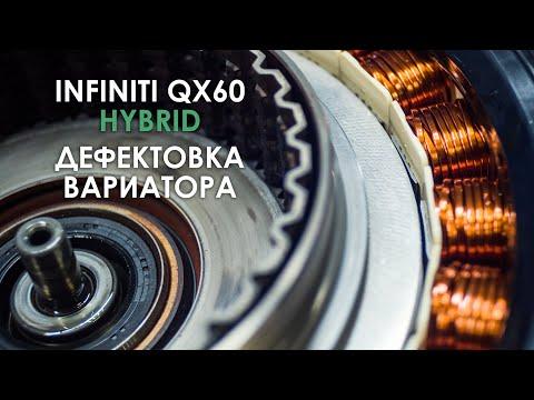 Фото к видео: Дефектовка вариатора JF018E Инфинити QX60