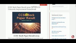 Ccsu Back Paper 2019 at Next New Now Vblog
