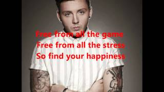 James Arthur- No More Drama Lyrics ( Pictures all the way through)