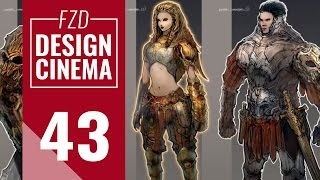 Design Cinema – EP 43 - Video Game Characters