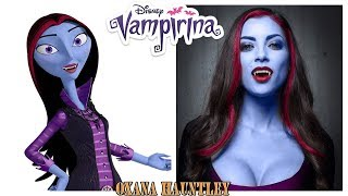 Disney Vampirina Characters in Real Life