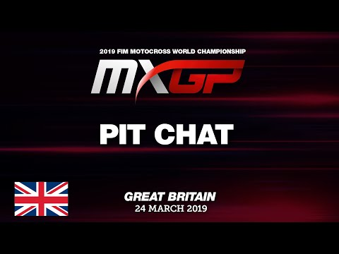 Pit Chat with Tommy Searle MXGP of Great Britain - Matterley Basin 2019 #motocross