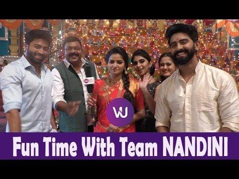 Nandhini Serial Location Funny Video & Pics || New Updates || Sun TV