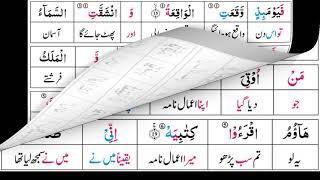 P29TF292 Tafseer Ul Quran Para 29 Surah Al- Qalam Ayaat 01