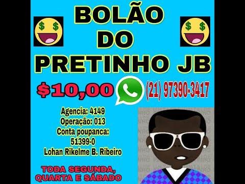 PALPITES PARA O JOGO DO BICHO✔ 09/06/2019✔ CANAL DO PRETINHO JB