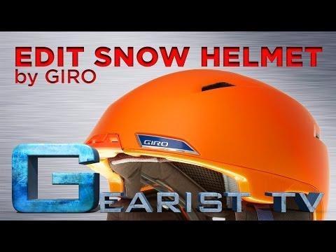GIRO EDIT SKI AND SNOWBOARD HELMET REVIEW – Gearist.com